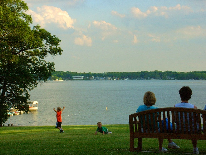Lake James - View from Potawatomi Inn, Pokagon State Park - Angola, Indiana